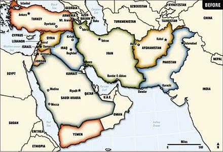 Naher und Mittlerer Osten heute